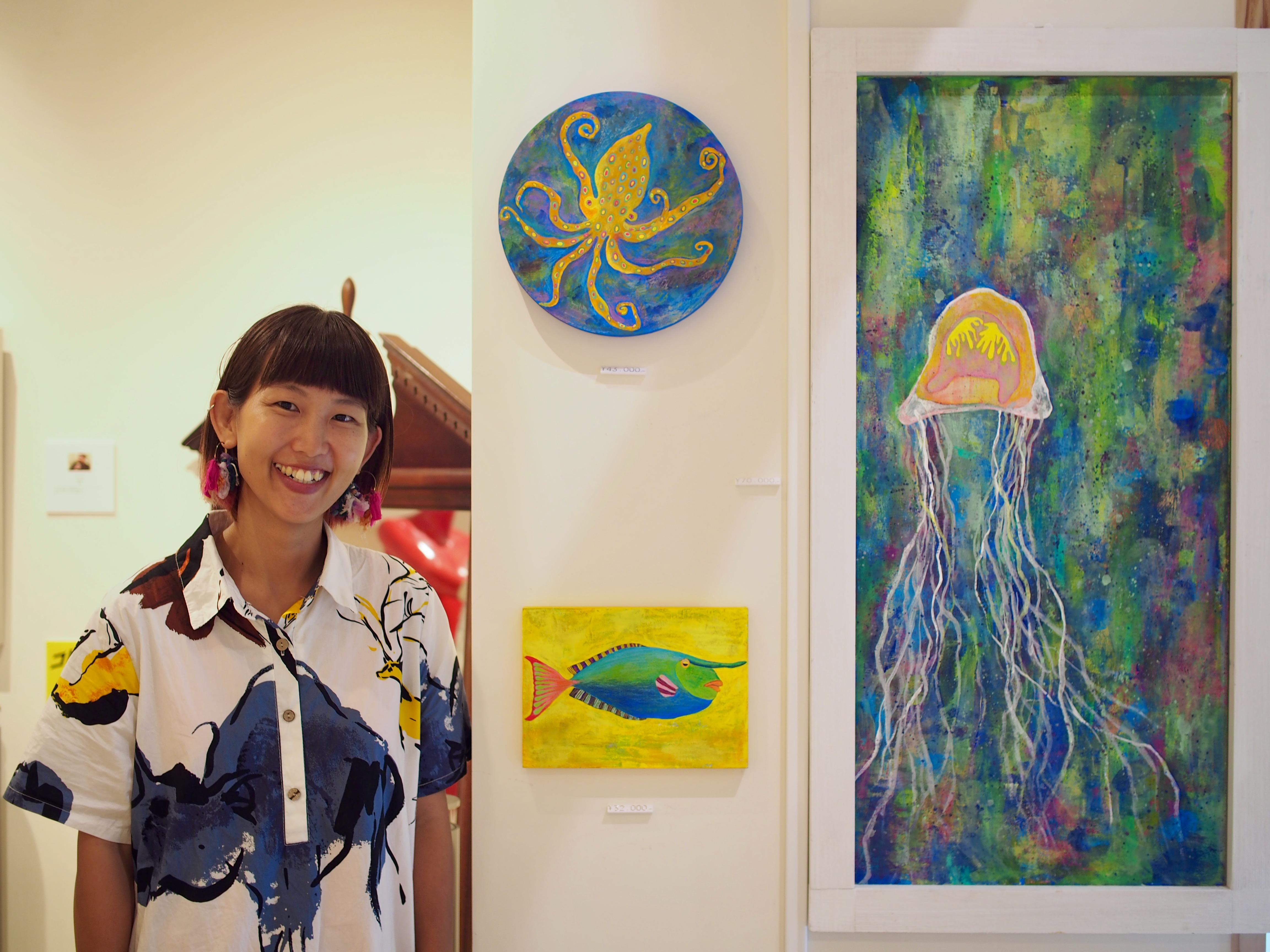 Artist Interview▶︎生命力あふれる生き物たちを描く、MEGU WAZOUSKI